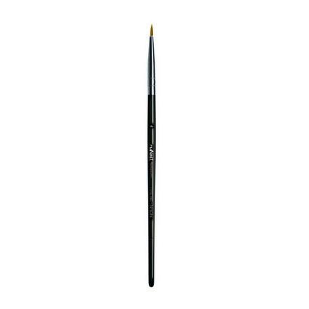 ruNail, Кисть для дизайна Nail Art Nylon №4, 8 ммКисти для дизайна<br>Синтетическая кисть для прорисовки тонких линий, создания френча.