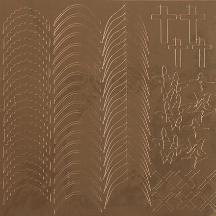 KrasotkaPro, Металлизированные наклейки M6g, золото