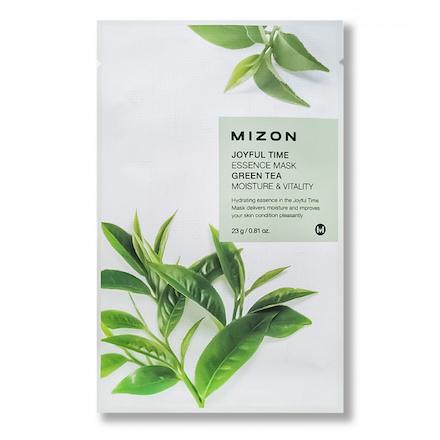 Mizon, Маска для лица Green Tea, 23 г