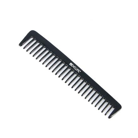 Купить Dewal, Расческа «Эконом», редкозубая, черная, 18 см