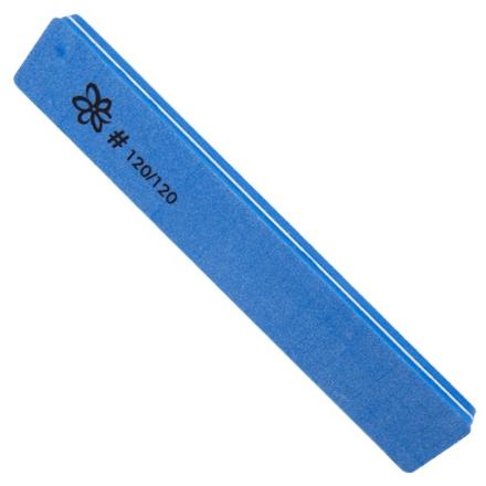 IRISK, Шлифовка 2-стороняя, прямая, 120/120Пилки для искусственных ногтей<br>Пилка для шлифовки искусственных ногтей.<br>