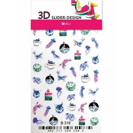Milv, 3D-слайдер B318  - Купить