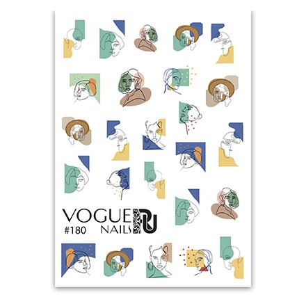 Купить Vogue Nails, Слайдер-дизайн №180