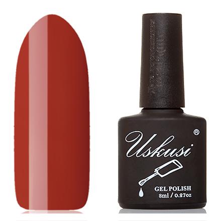 Uskusi, Гель-лак №165Uskusi<br>Гель-лак (8 мл) оранжево-коричневый, без перламутра и блесток, плотный.<br><br>Цвет: Оранжевый<br>Объем мл: 8.00