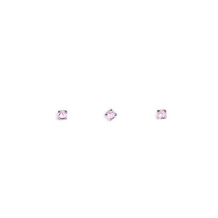 Купить TNL, Кристаллы «Принцесса» №2, розовые, 10 шт., TNL Professional