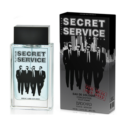 Купить Brocard, Одеколон Secret Service Platinum, 100 мл