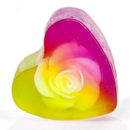 Купить Aroma Home & Spa Therapy, Мыло Red Grape, сердечко, 100 г, Aroma Home&Spa Therapy