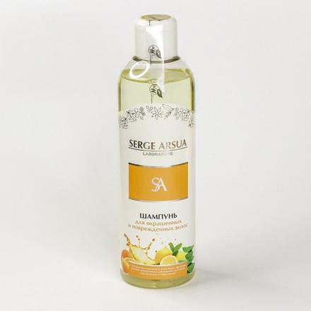 Купить Serge Arsua, Шампунь «Для окрашенных и поврежденных волос», 250 мл