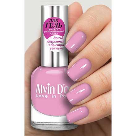 Купить Alvin D'or, Лак-гель №16154, Розовый