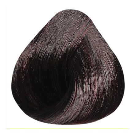 Estel, Краска-уход 4/75 De Luxe, шатен коричнево-красный, 60 млКраски для волос<br>Краска-уход из серии De Luxe в оттенке шатен коричнево-красный придает волосам насыщенный цвет, натуральную мягкость и сияющий блеск. Вы забудете о седине надолго.<br><br>Объем мл: 60.00