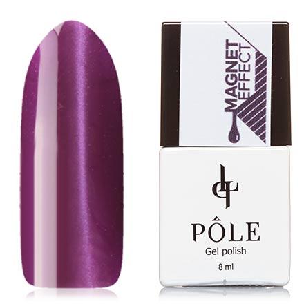 POLE, Гель-лак №58, Атласный пурпур