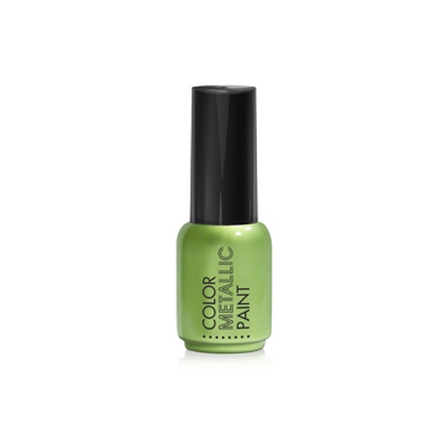 Купить RuNail, Металлизированная краска для дизайна, зеленая