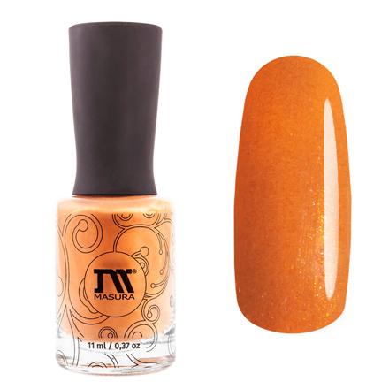 Купить Masura, Лак для ногтей «Золотая коллекция», Золотая горчица, 11 мл, Оранжевый