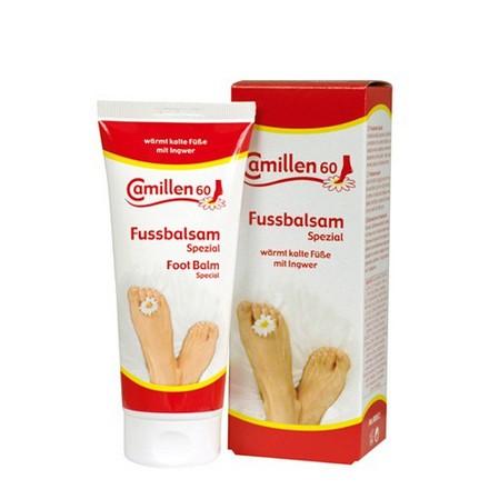 Camillen 60, Бальзам для стоп согревающий Fussbalsam spezial, 100 мл