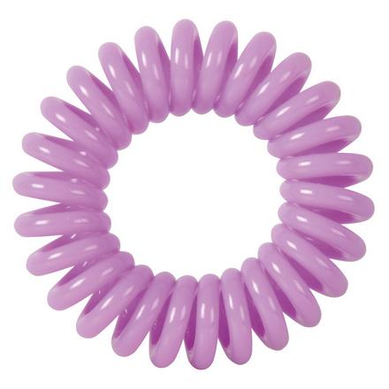 Купить Dewal, Резинки для волос «Пружинка», фиолетовые, 3 шт.