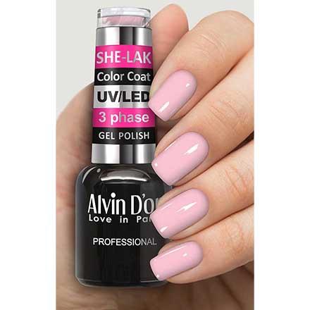 Купить Alvin D'or, Гель-лак №35103, Розовый