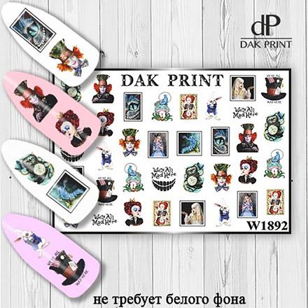 Купить Dak Print, Слайдер-дизайн №1892