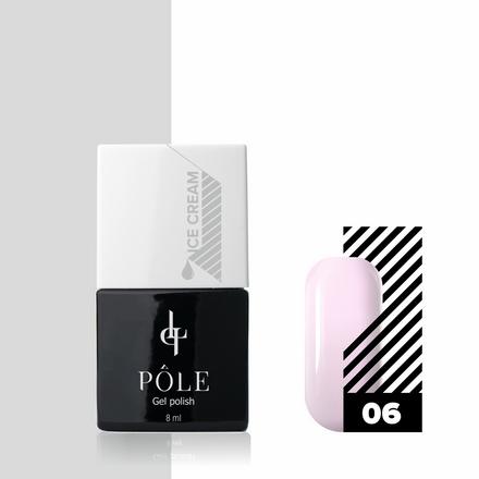 Купить Pole, Гель-лак Ice cream №06, Сладкая смородина, Розовый