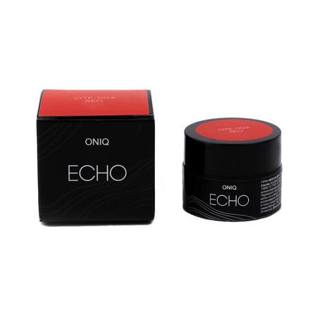 Купить ONIQ, Гель-краска для стемпинга Echo, Red