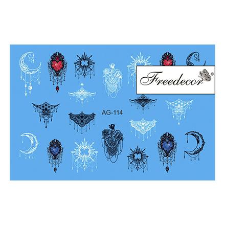 Freedecor, Слайдер-дизайн «Аэрография» №114 freedecor слайдер дизайн аэрография 71