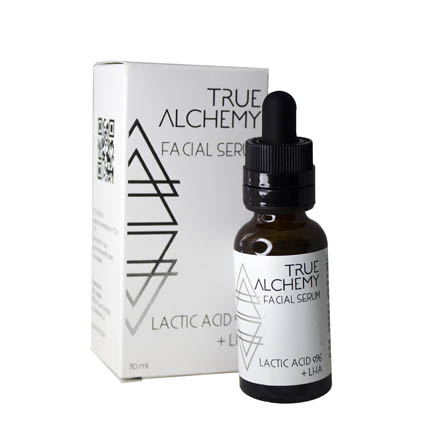True Alchemy, Сыворотка для лица Lactic Acid 9% + LHA, 30 мл