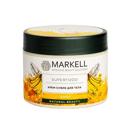 Купить Markell, Крем-суфле для тела Superfood, банан, 300 мл