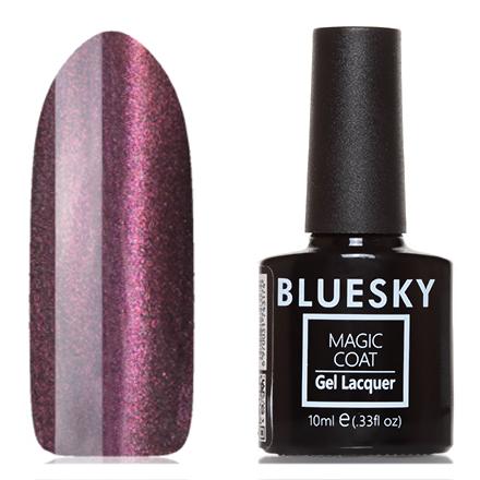 Bluesky, Гель-лак Magic Cat Eye №04, Звездная рекаBluesky Шеллак<br>Магнитный гель-лак (10 мл) на прозрачной подложке черного цвета, с фиолетово-розовыми/ золотистыми микроблестками, полупрозрачный.<br><br>Цвет: Фиолетовый<br>Объем мл: 10.00