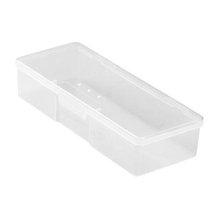 IRISK, Бокс для кистей и инструментов, прозрачныйЕмкости<br>Пластиковый бокс для хранения инструментов и кистей.