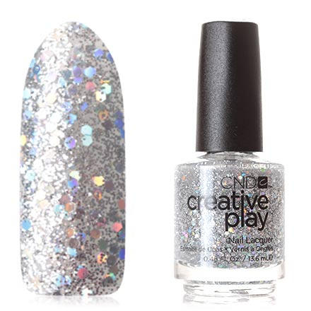 CND Creative Play, цвет Bling Toss, 13,6 мл cnd лосьон creative scentsations wildflower