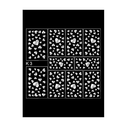 Milv, Слайдер-дизайн К3, серебро