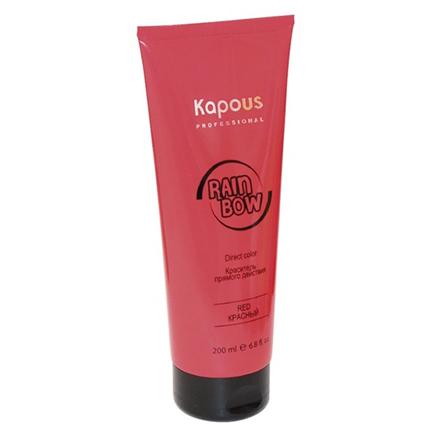 Kapous, Краситель для волос прямого действия Rainbow, красный