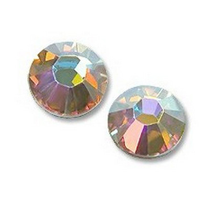 Купить Кристаллы Swarovski, Crystal AB F SS4 1, 5 мм (30 шт)