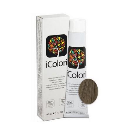 KAYPRO, Крем-краска iColori 7.1Краска для волос<br>Цвет: пепельный блондин. Объем: 90 мл.