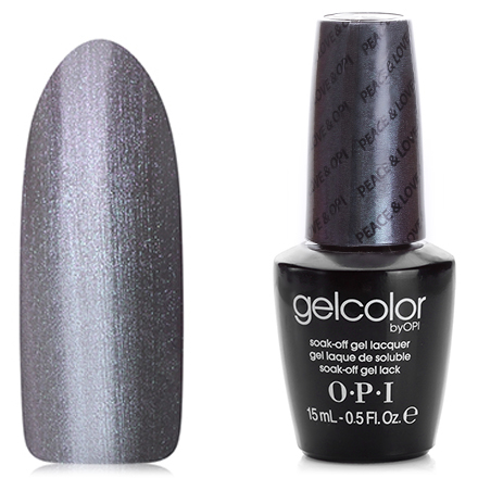 OPI GelColor, Гель-лак Peace & Love & OPI F56 opi gelcolor гель лак i sea you wear opi gca73