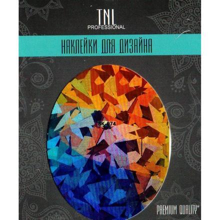 TNL, Наклейка-фольга Premium Quality BK-074
