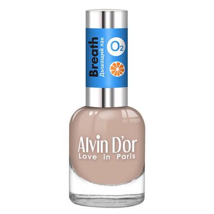 Alvin D'or, Лак Breath №02 бежевого цвета