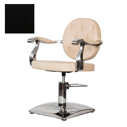 Купить Мэдисон, Кресло парикмахерское «Орландо» гидравлическое, хромированное, черное