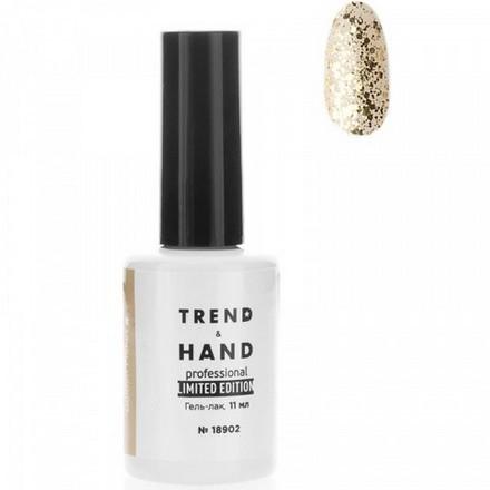 Купить Trend&Hand, Гель-лак Limited Edition №18902, Golden Flakes, Trend&Hand Professional, Золотой
