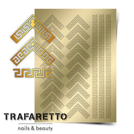 Купить Trafaretto, Металлизированные наклейки OR-05, золото