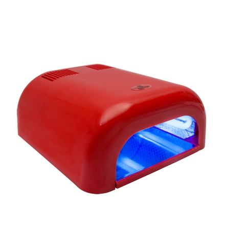 Planet Nails, Лампа UV Tunnel Econom, 36W, красная (электронная)