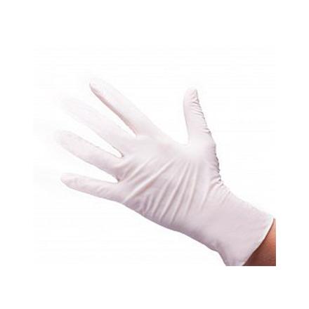 Купить White line, Перчатки нитриловые белые, размер XS, 100 шт.