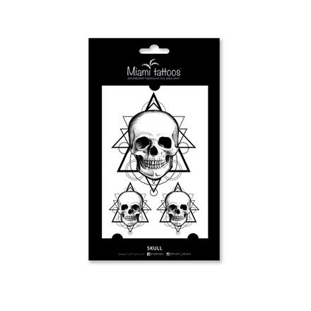Miami Tattoos, Переводные татуировки Skull