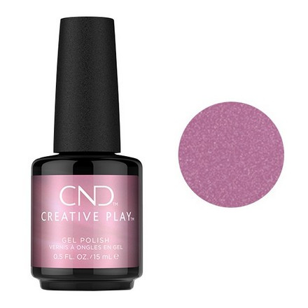 Купить CND, Creative Play Gel №458, I like to mauve it, CND (Creative Nail Design), Фиолетовый