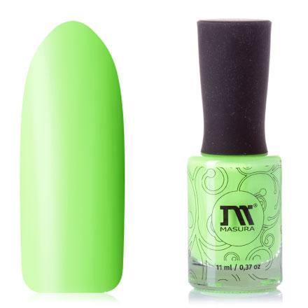 Masura, Лак для ногтей «Зеленая мамба», 11 мл фото