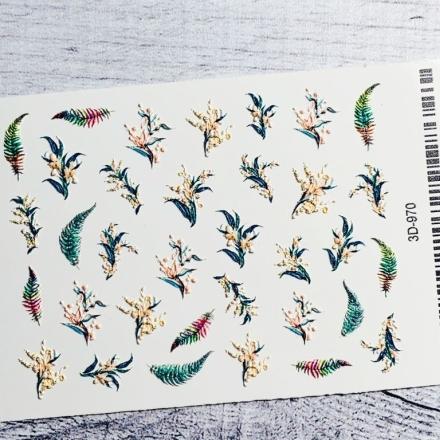 Купить Anna Tkacheva, 3D-слайдер №970 «Цветы. Веточки»