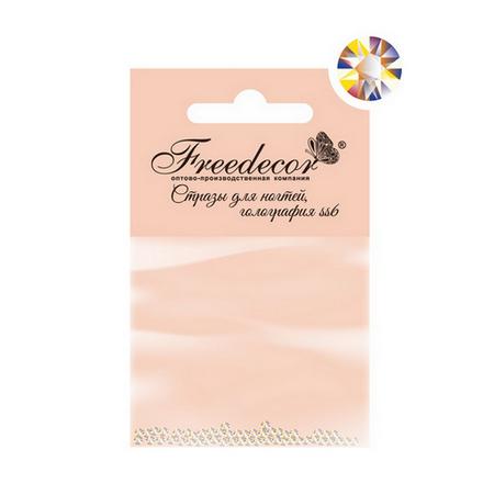 Купить Freedecor, Стразы для ногтей «Голография», 1, 8 мм