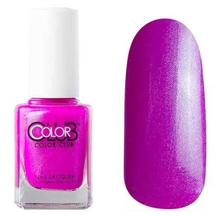 Color Club, цвет № 0865 Ultra VioletColor Club<br>Профессиональный лак (15 ml) ярко-фиолетовый с микроперламутром, плотный<br><br>Цвет: Фиолетовый<br>Объем мл: 15.00
