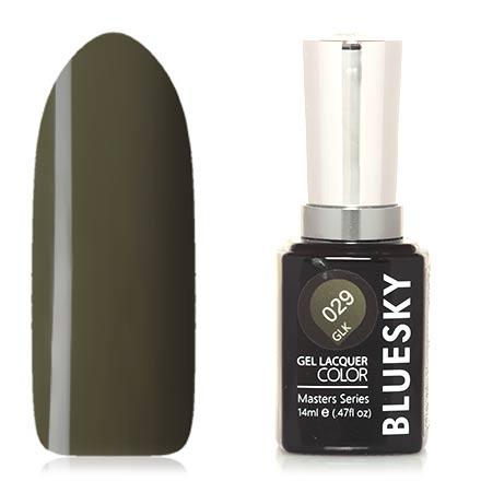 Купить Bluesky, Гель-лак Masters Series №029, Зеленый