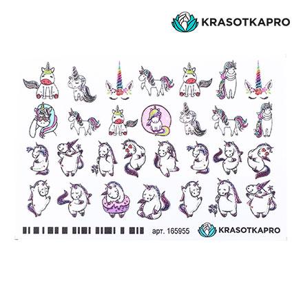 Купить KrasotkaPro, 3D-слайдер Crysta l№165955 «Животные. Единороги»