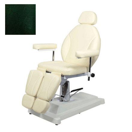 Купить Мэдисон, Кресло педикюрное «МД-02», изумрудно-черное